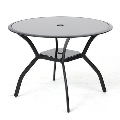 Table de jardin ronde - Salon de jardin table ronde ...