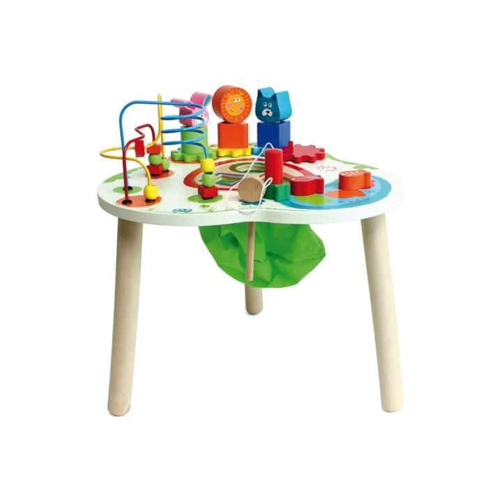 table d activite en bois achat vente jeux et jouets. Black Bedroom Furniture Sets. Home Design Ideas