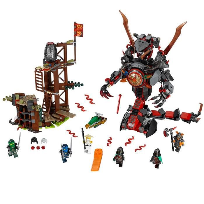 ASSEMBLAGE CONSTRUCTION LEGO Ninjago Dawn Of Doom Fer 70626 Enfants Jouet