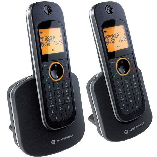 motorola d1002 duo t l phone sans fil dect achat. Black Bedroom Furniture Sets. Home Design Ideas