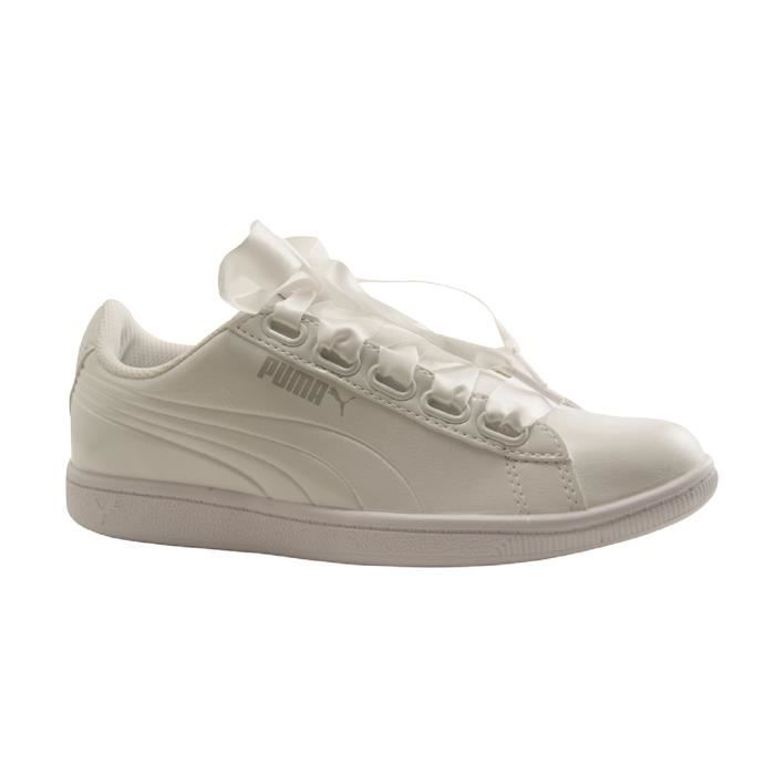 PUMA Adultes-WNS VIKKY RIBBON P-TRAINING LACET-BLANC ghvzD1