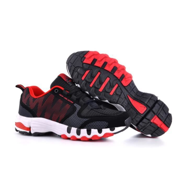 Hommes Courir Hommes Rouge Chaussures Achat Baskets Rouge Rouge WHY29IED