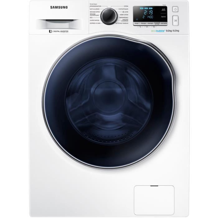 Photo de lave-linge-sechant-hublot-samsung-wd90j6a10aw-air-wash-lave-linge