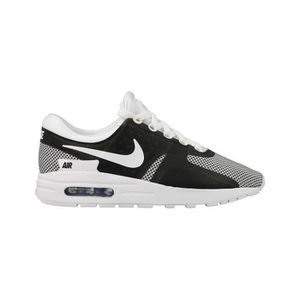 Nike Air Max Zero Essential GS Running Trainers 881224 Sneakers Chaussures 100 Blanc Blanc - Achat / Vente basket  - Soldes* dès le 27 juin ! Cdiscount