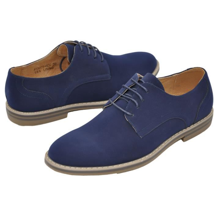 Derbies homme à lacets Goor63079-60s-navy