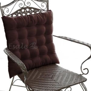 galette de chaise 45x45 achat vente pas cher. Black Bedroom Furniture Sets. Home Design Ideas