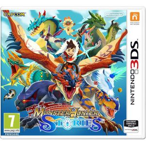 JEU 3DS Monster Hunter Stories Jeu 3DS