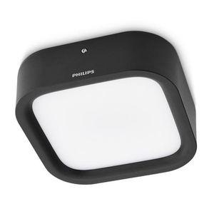 PLAFONNIER PHILIPS Plafonnier dalle LED Puddle noir 1x4W SELV