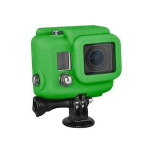 Xsories Silicone Cover Hero 3+ - Protection/ Personnalisation GoPro - housse compatible Hero 3+ /4 GREEN
