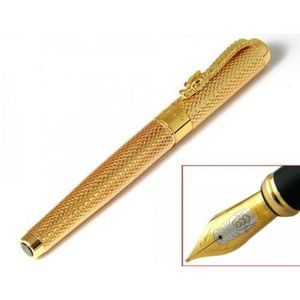 Stylo - Parure Jinhao Stylo Plume Fontaine Or Luxe avec Convertis