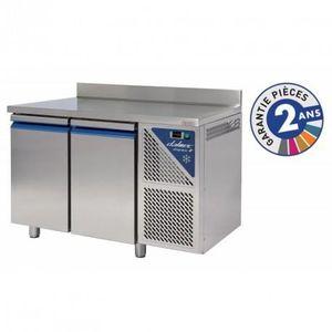 ARMOIRE RÉFRIGÉRÉE Table réfrigérée 300 L positive - 2 portes avec do