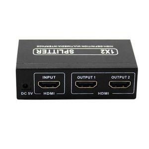 REPARTITEUR TV Splitter HDMI 1 Entrée 2 Sortie Disponible en 3D H