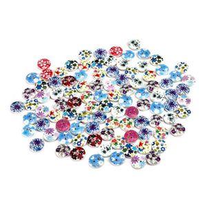 Qualité 100g blanc sélection mixte assortiment de boutons scrapbooking fabrication carte