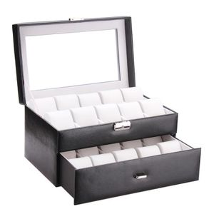 coffret rangement montre homme achat vente pas cher cdiscount. Black Bedroom Furniture Sets. Home Design Ideas