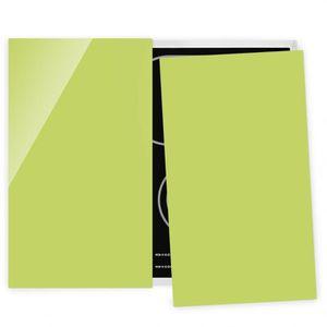 PLAQUE INDUCTION Couvre plaque de cuisson - Spring Green - 52x60cm,