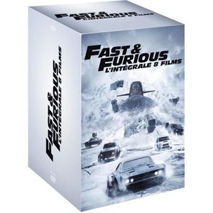 DVD FILM coffret dvd fast and furious 1 a 8 integrale 2017