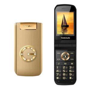 Téléphone portable EFUTURE Téléphone portable à rabat Écran d'écritur