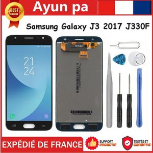 ECRAN DE TÉLÉPHONE Noir Ecran Tactile Vitre Lcd + Outils Pour Samsung