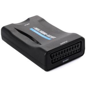REPARTITEUR TV HDMI vers Péritel Adaptateur convertisseur USB Pou