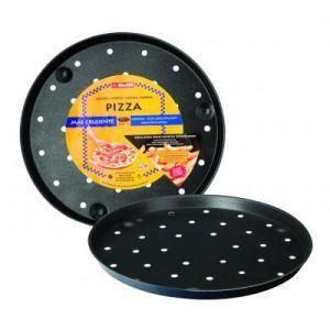 PLAT POUR FOUR Moule a pizza bleu  28cm