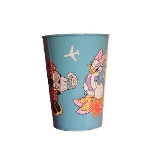 Verre à eau - Soda Gobelet Minnie Disney verre plastique enfant  bleu