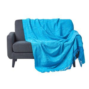 couvre lit turquoise achat vente couvre lit turquoise. Black Bedroom Furniture Sets. Home Design Ideas