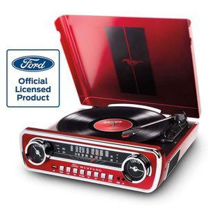 CHAINE HI-FI ION Audio Mustang LP - Chaîne Hi-Fi Rétro Ford Mus
