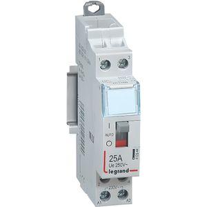 COMPOSANT TABLEAU Contacteur de puissance 230V 2 contacts 25A 2F ...