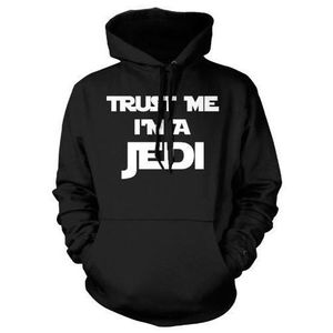 SWEATSHIRT Sweat Shirt Star Wars Trust me I'm a Jedi
