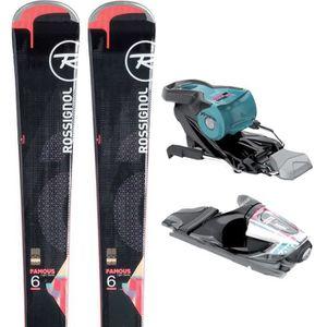 SKI ROSSIGNOL Famous 6 Ski + Xpress W11 B83 Fixations