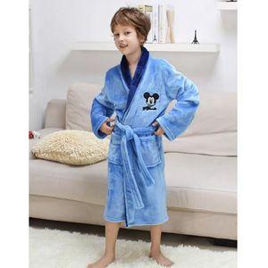 PYJAMA Tongcart Enfants Robes Pyjamas Flanelle épaisse Mi