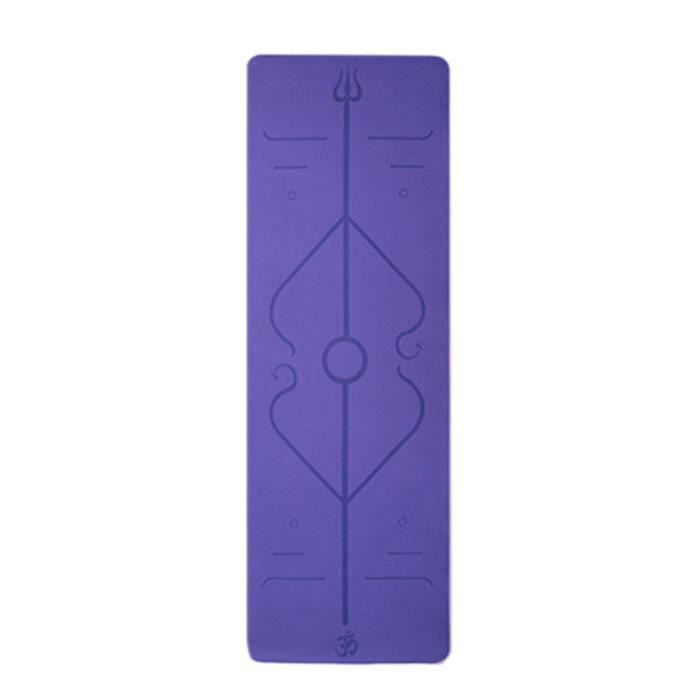 Tapis de yoga classique Yoga Mat Pro TPE Eco Friendly Antiderapant Fitness Tapis d'exercice Produit de yoga 29