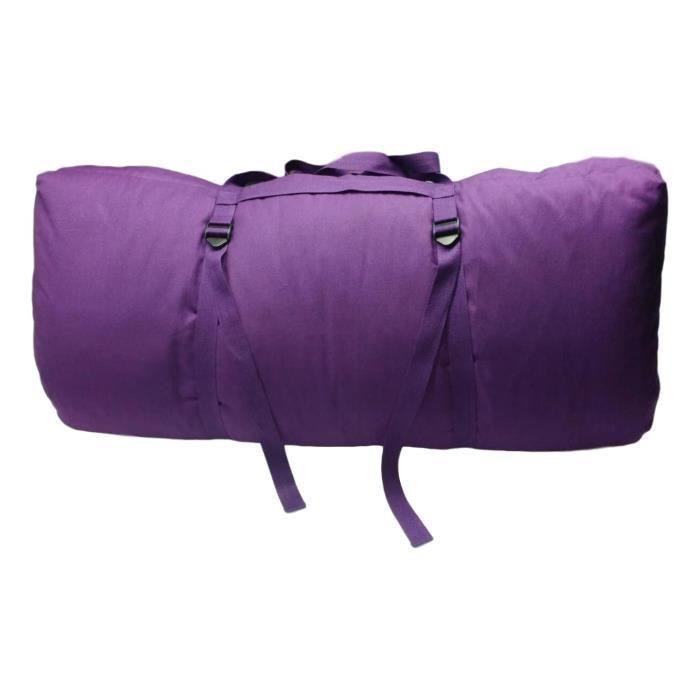 Zabuton Confort Plus 80 x 80 x 12 cm Violet
