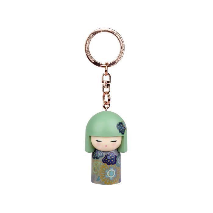 Porte clé Kokeshi Kimmidoll 5cm Mie - Prosperous VERSION ANGLAISE