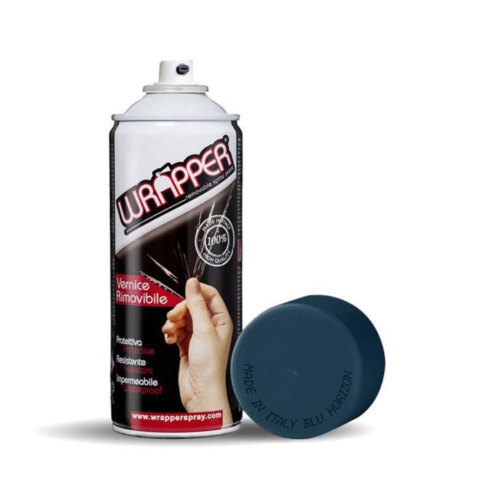 Wrapper Spray Peinture Amovible en Aérosol, Bleu Horizon