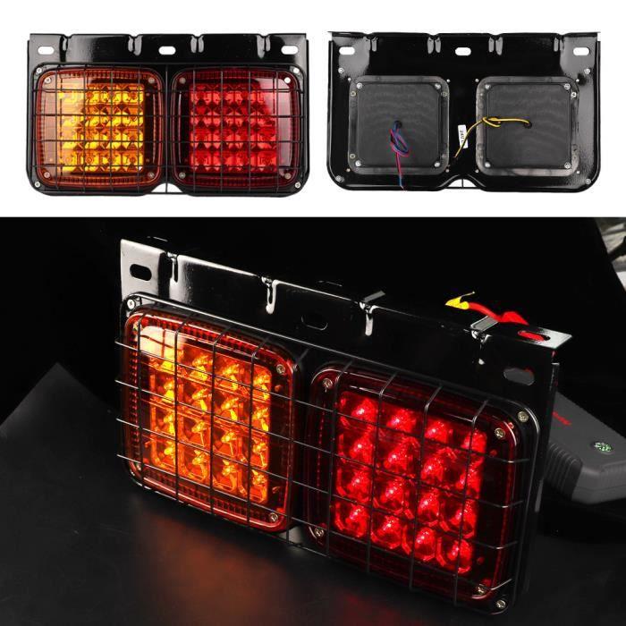 YOSOO Feu arrière indicateur LED Remorque camion LED arrière feu arrière clignotant étanche feux arrière remorque / camion