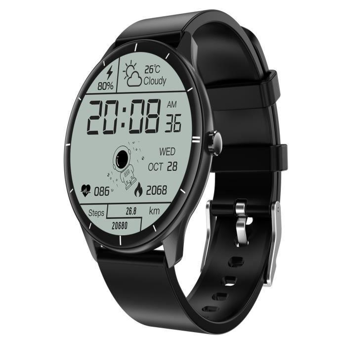 Montre connectée Running Sport GPS Appel téléphonique Téléphone Fréquence cardiaque étanche ANE-BK -2