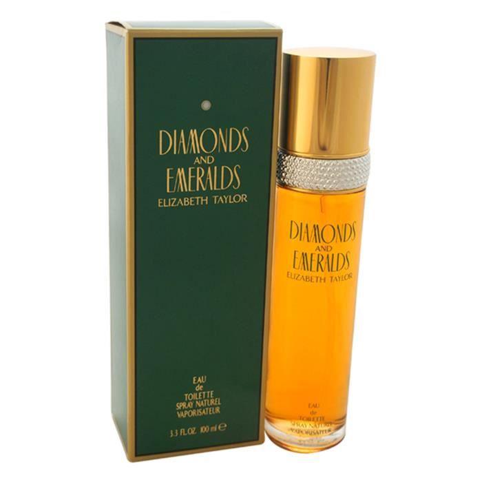 Diamonds and Emeralds by Elizabeth Taylor pour femme - 3,3 oz EDT Eau de toilette