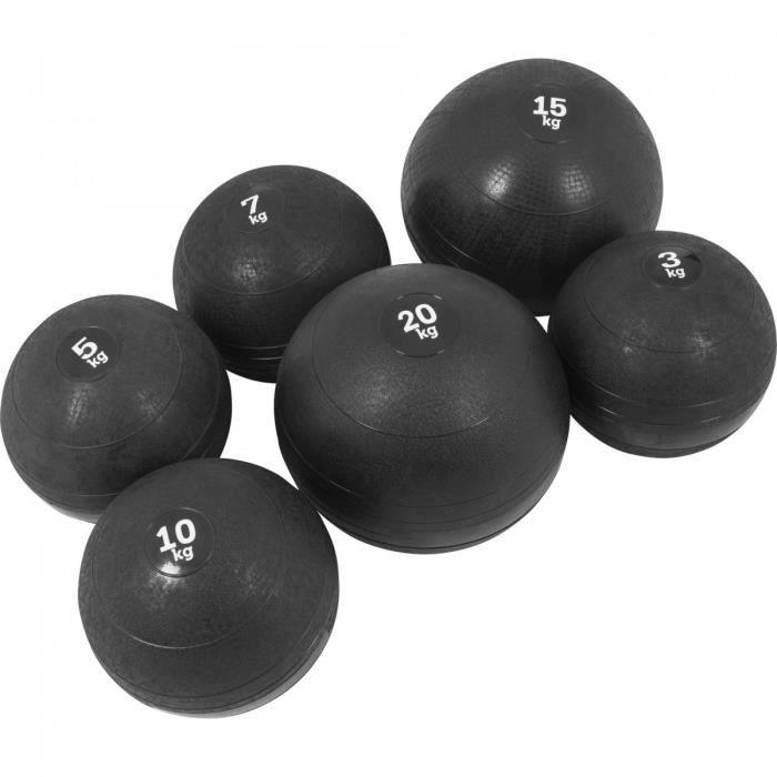 Lot de 6 Slam Balls - De 3 à 20 KG (60 KG)