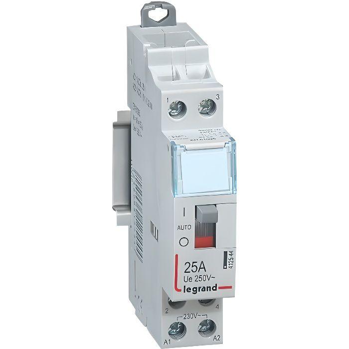 Contacteur de puissance 230V 2 contacts 25A 2F ...