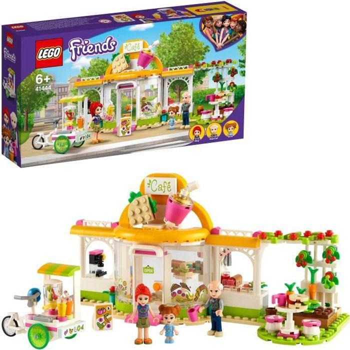 LEGO® Friends 41444 Le café biologique de Heartlake City incluant un potager, jeu créatif sur le thème de l'environnement