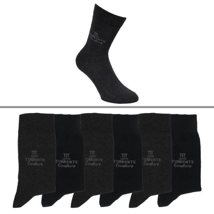 Chaussettes Torrente Couture homme lot de 6
