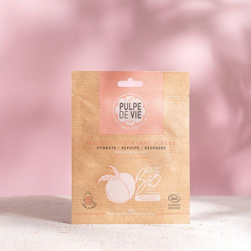 Pulpe de Vie SEX ON THE PEACH Masque tissu visage BIO 20ML