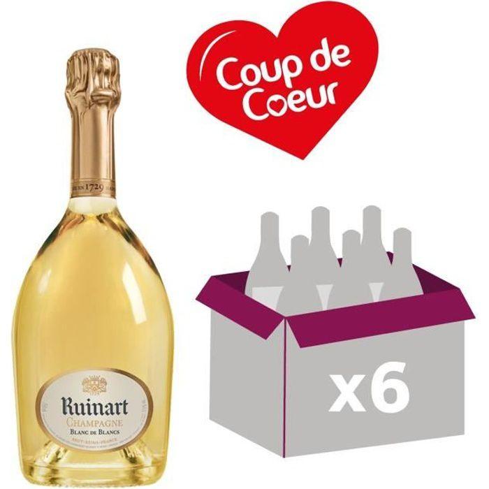 Ruinart Blanc de Blancs - Champagne - France - carton de 6x75cl