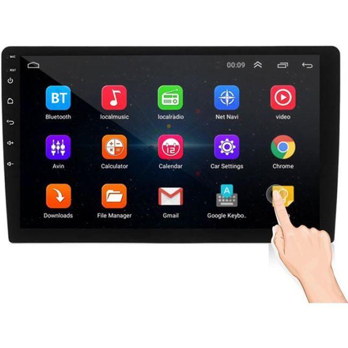 2Din 10.1 pouces 1024 * 600 Pour Android 8.1 Autoradio WIFI GPS bluetooth MP5 arrière Carema