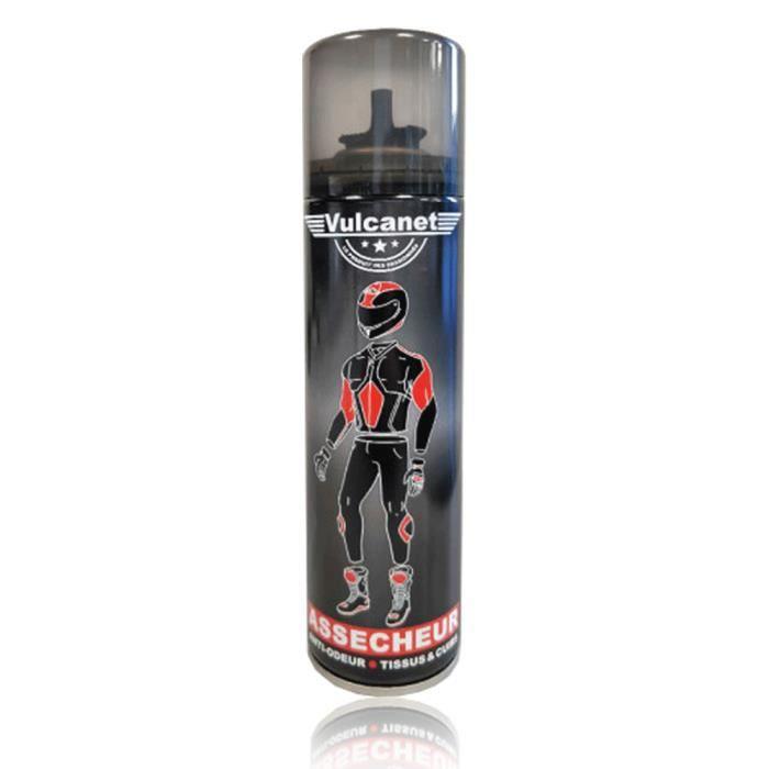 Assecheur Vulcanet, anti-odeur tissus/cuirs, 250ml - Vulcanet