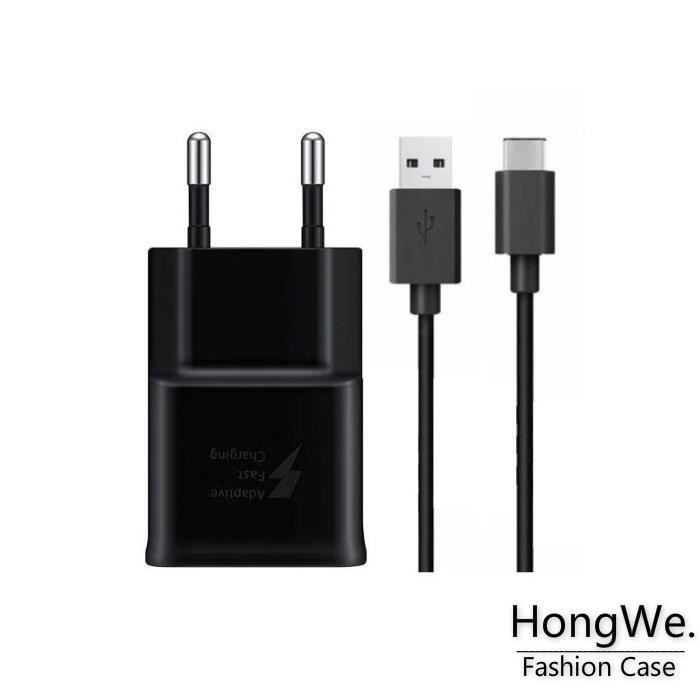 CHARGEUR TÉLÉPHONE RongLe® Samsung Galaxy S9 Charge Rapide AFC 2A NOI