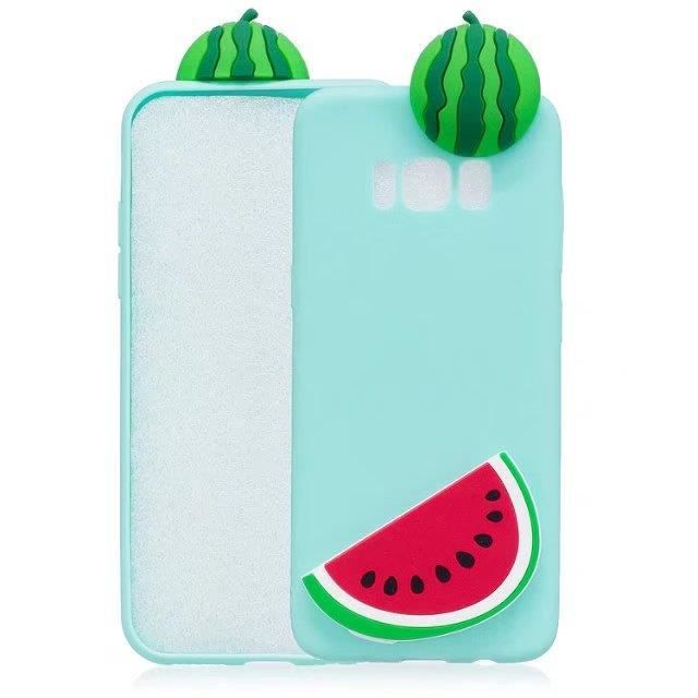 coque iphone 6 silicone pasteque