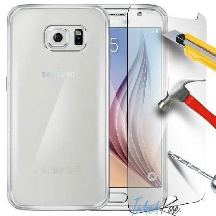 galaxy s6 coque silicone transparent