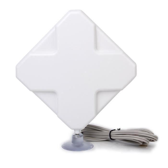 AMPLIFICATEUR DE SIGNAL Antenne 4G LTE 35dbi TS9 Connecteur Booster Amplif